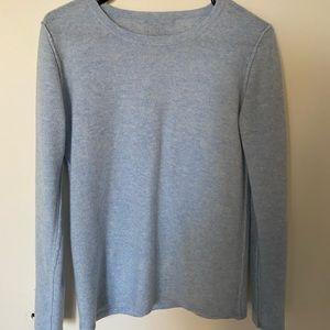 Blue Preswick and Moore Cashmere Sweater